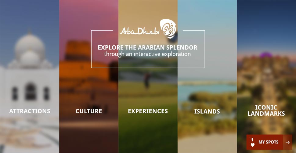 Abu Dhabi - Direction artisitque web