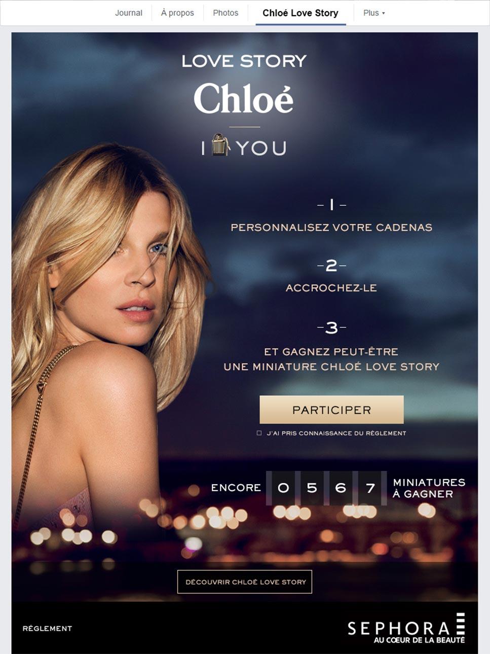 Chloé - Direction artisitque web