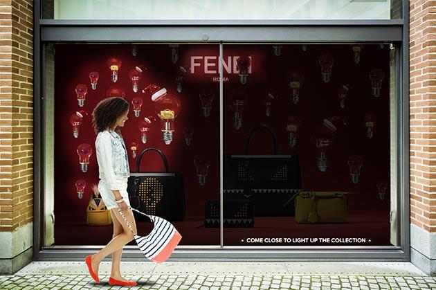 Fendi - Direction artistique web